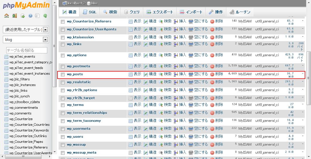 webhdd.jp-localhost-blog-phpMyAdmin-3.5.2.21