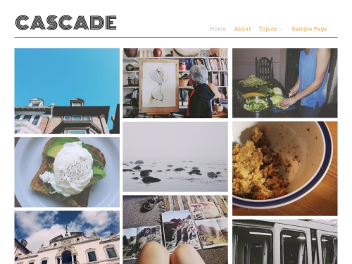 WordPress無料テーマ:Cascade