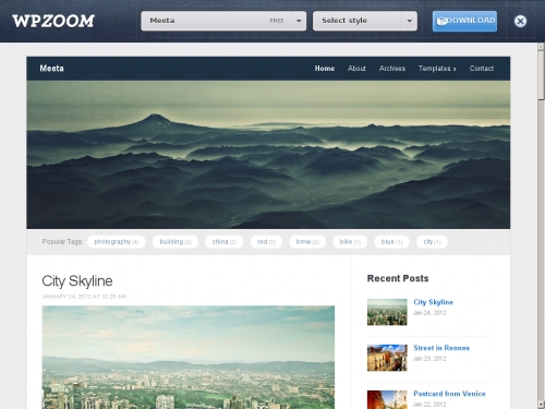 WordPress無料テーマ:WPZOOM