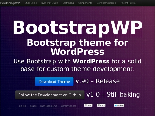 WordPress無料テーマ:BootstrapWP