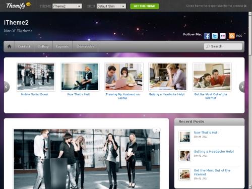 WordPress無料テーマ:iTheme2