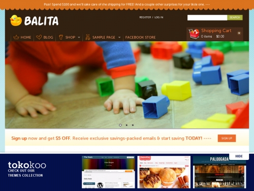 WordPress無料テーマ:Balita