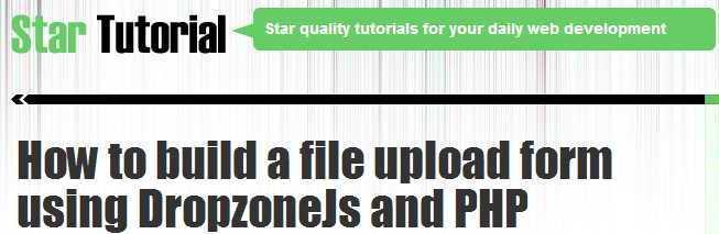 how-to-build-a-file-upload-form-using-dropzonejs-and-php
