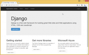VisualStudio2015Django5