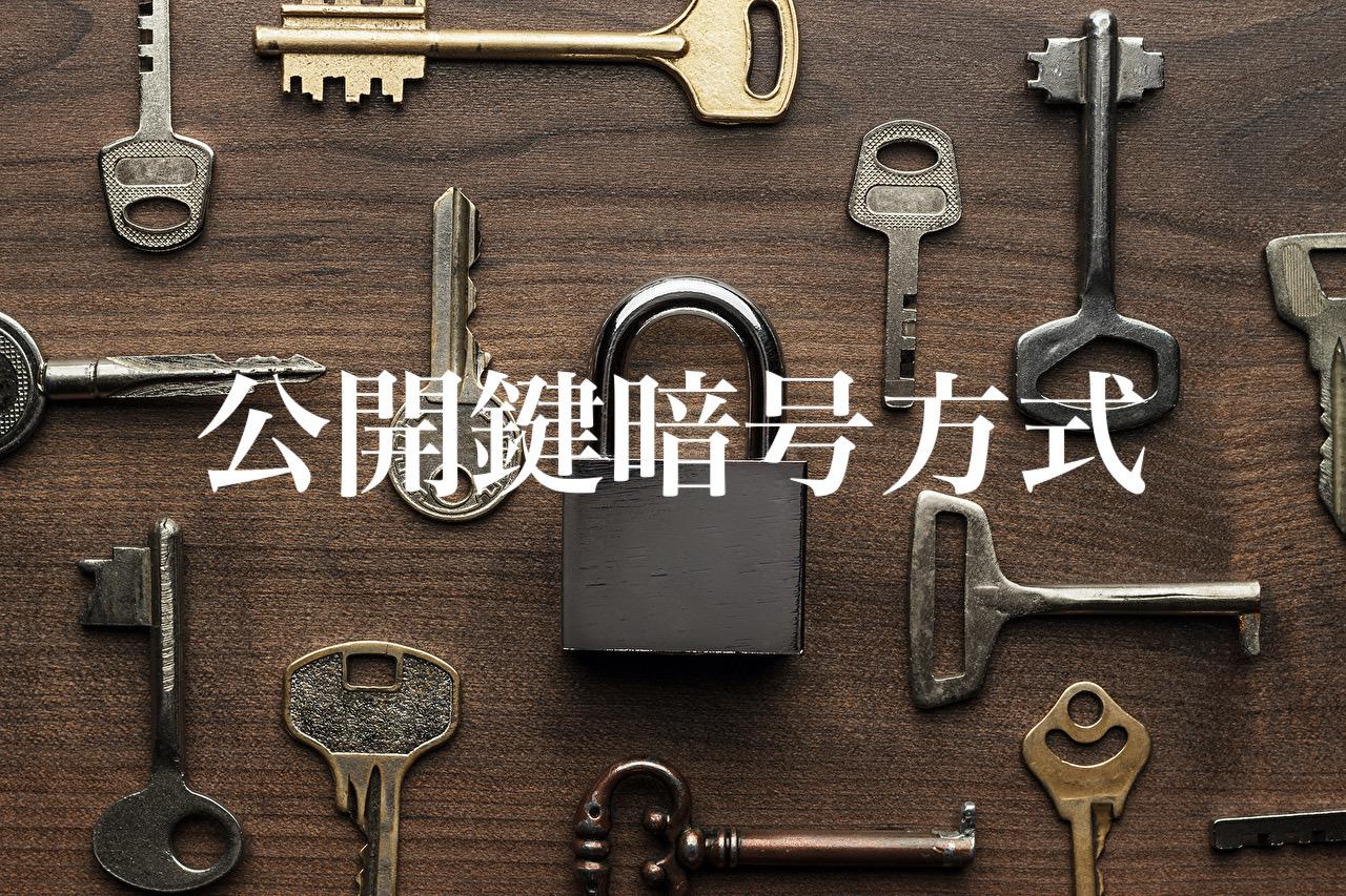 世界を支える数学~公開鍵暗号方式~
